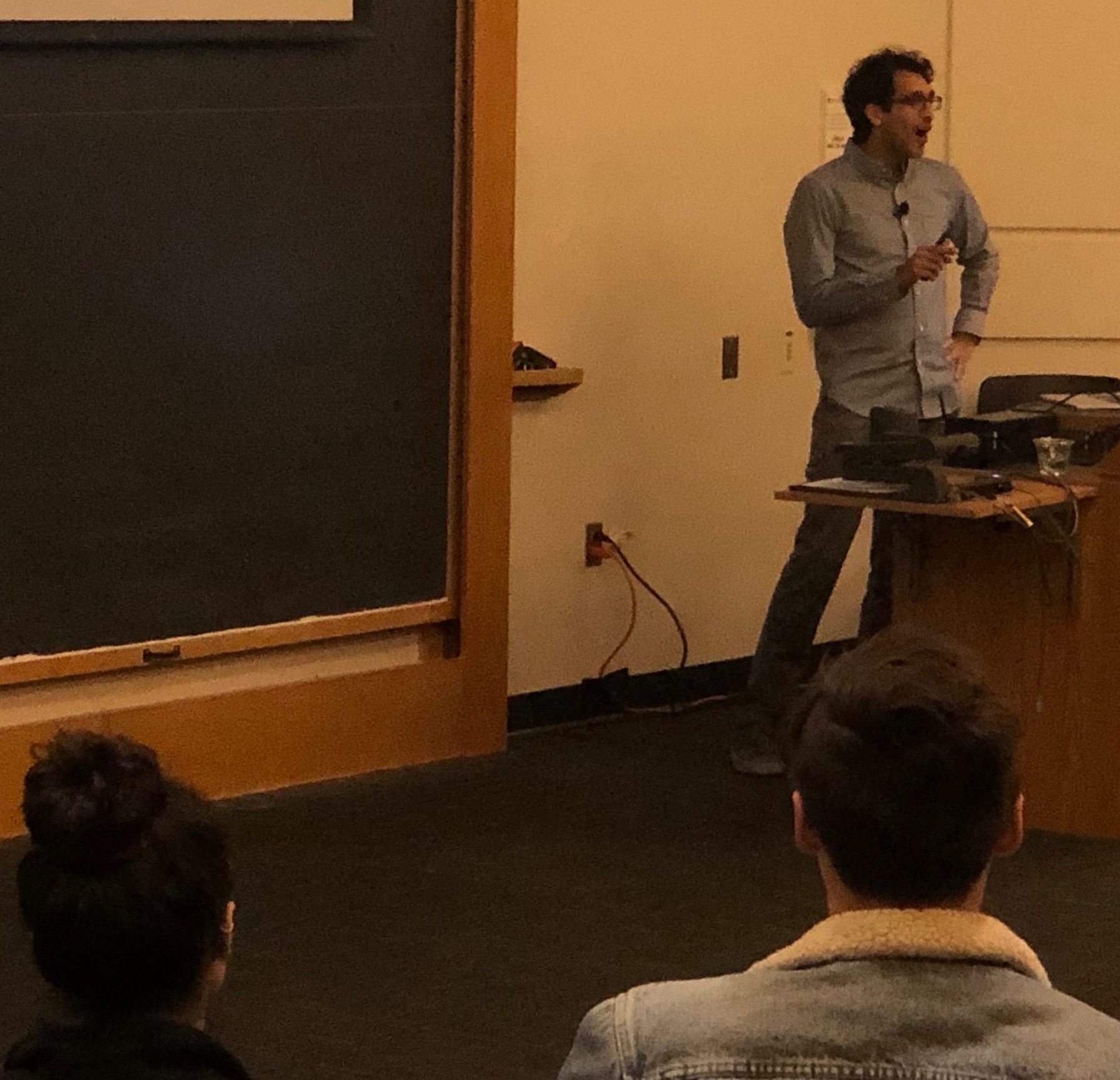 Arjun Raj Keystone Public talk @ CU Boulder : Time machine and all !